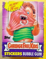 1988 Garbage Pail Kids Original 14th Series 14 GPK OS14 (BOX & 6 WAX PACKS) RARE