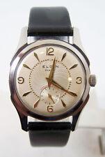Vintage ELGIN Mens 15J Winding Cal 554 Watch  c.1950s EXLNT* SERVICED