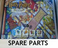 Harry Potter Diagon Alley - Spare Part Choose from Menu - Hats Coins Cards etc