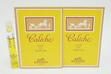 HERMES CALECHE SOIE DE PARFUM EDP Women Splash Samples 2.5 ml .08 oz x 2