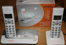 * Nuevo ** Binatone Elite 2025 digitales europeas sin hilos Twin telephones+answer máquina