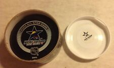 2003 NHL All Star Game Authentic Official Puck Florida In Glass Co new