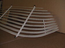 1956-57 CHEV 4 DOOR PILLARLESS VENETIAN BLINDS / AUTO SHADES