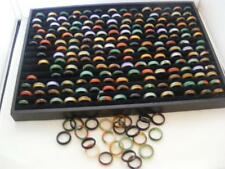 WONDERFUL COLLECTION OF 20 X AGATE RINGS. FOR RESALE OR GIFTS. WHOLESALE JEWELRY