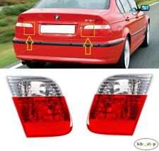 BMW 3 E46 (SALOON) 2001 - 2005 NEW REAR TAIL LIGHT LAMPS INNER PART LEFT + RIGHT