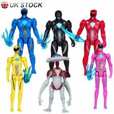 UK 10-13cm Action Figures 6pcs Set Power Rangers The Hero Movie Decor Toy Kids