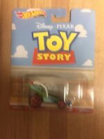 RARE! New Hot Wheels 2019 Premium Disney Pixar TOY STORY RC CAR With Real Riders