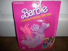 Barbie Fantasy Fashion Gift Set Gown Dress 720 Arco Mattel 1989 Shoe Mask NOC