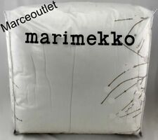 Marimekko Lumimarja Full / Queen Comforter & Shams White / Light Gray