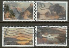 Scott #4917-20 Used Set of 4, Hudson River School Stamps (Off Paper)