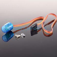 AX-510B RC Car Police Flash Bright LED Light 5 Modes 360° Rotation Aluminum 1/10