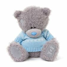 "Me To You 10 ""Azul de punto Lindo Jumper Suave Oso De Felpa-tatty Teddy"