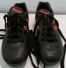 1990's Pantofola d'oro Sphinx Mens Soccer Shoes, Size 5 1/2, Black