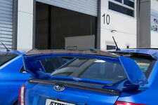 STI Style Lip Spoiler For 2008-2014 Subaru Impreza WRX/STI G3 (GLOSS BLACK) NEW