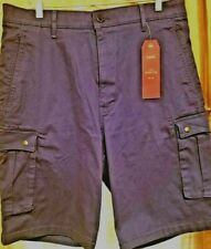 Men's Levis 2 Way Comfort Stretch Snap Cargo Shorts Size 34  Compare at $56