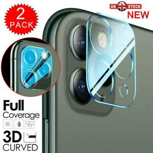 2X Complet Housse Caméra Lentille Verre Trempé Écran Protège Pour IPHONE 11 Pro