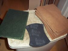 12 ASST ABRASIVE SCOURING PADS 3 TYPES SPONGES SEE PICTURES