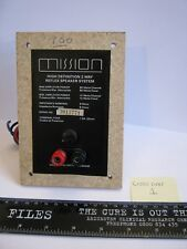 1x VINTAGE Mission 700 Crossover Genuine Replacement Part + Terminals 1.5 A Fuse
