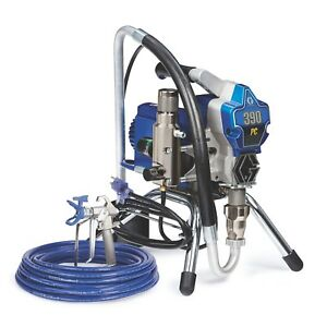 Graco 390 PC Electric Airless Paint Sprayer Stand 17C310