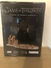 Game of Thrones -Puzzle of King's Landing - 4D Jigsaw Puzzle - Brand New