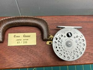 1977 Orvis CFO Reel Aluminum with Mahogany Case Limited Edition #83/300 England
