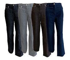 Damen Nadelstreifen Jeans Hose Kurzgrößen Gr. 19 20 21 38 42 NEU!!!