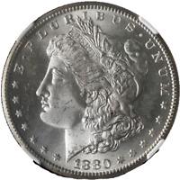 1880-S Morgan Silver Dollar NGC MS65 Blazing White Gem Nice Strike STOCK