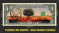 OPETH Heritage IMAN BILLETE 1 DOLLAR BILL MAGNET