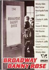 BROADWAY DANNY ROSE Movie POSTER 11x17 German Woody Allen Mia Farrow Nick Apollo
