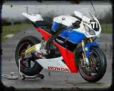 Equipo Honda TT leyendas A4 Foto Impresión moto antigua añejada De