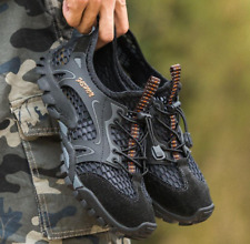 US9 Mens Breathable Outdoor Climbing Shoes Hiking Non-slip Waterproof  Falts