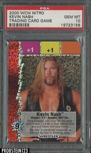 2000 WCW Nitro Wrestling Kevin Nash PSA 10 GEM MINT