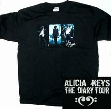 Alicia Keys Diary Tour Black Extra Large Xl T-Shirt New