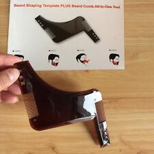 Beard Shaping Comb Tool Template, Shaper, Stencil, Symmetry, Trimming #HF US