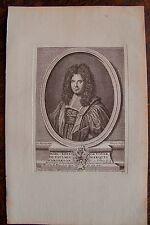 MARC RENE DE VOYER DE PAULMIS MARQUIS D'ARGENSON . PORTRAIT,
