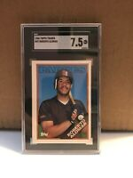 1988 Topps Traded Roberto Alomar RC #4T SGC 7.5 NM+ Padres Rookie