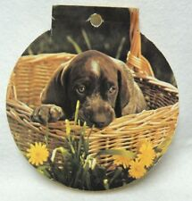 Vintage 1979 Note Pad w/ German Shorthaired Pointer Puppy on Cover