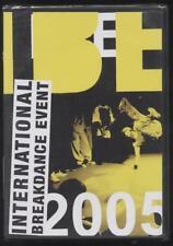 NEUF DVD International Breakdance Event 2005  Édition 2 DVD   DANCE MUSIQUE