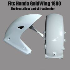 ABS Unpainted Front&Rear Cowl of Front Fender Fairing For Honda GoldWing 1800 GL