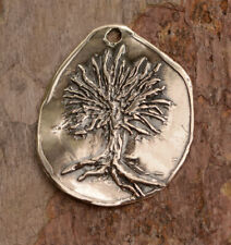 Artisan Handcrafted Sterling Silver, Tree of Life Pendant