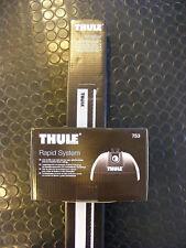 Thule WingBar Dachträger-Set 120cm, bestehend aus Fußsatz 753 + Stangensatz 961