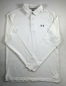 Under Armour Polo Playoff Golf Shirt Long Sleeve More Colors M L XL 3XL DEFECT