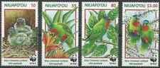 Timbres Oiseaux Niuafo'ou Tuvalu 263/6 ** année 1998 lot 28031