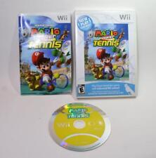 Mario Power Tennis Nintendo Wii game complete w/case,manual, cover artwork
