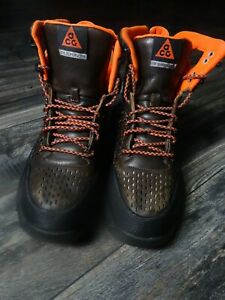 Nike Zoom Superdome ACG size 10 Brown/Orange Boot 654886-206 RARE