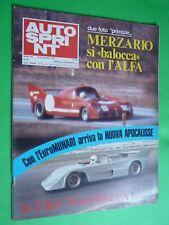 AUTOSPRINT 1973/46 Merzario Alfa Enzo Osella James HUnt Giro d'Italia Stratos