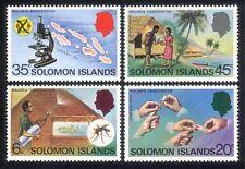 Solomons 1977 Malaria/Health/Insects/Medical/Welfare/Microscope 4v set (n45166)