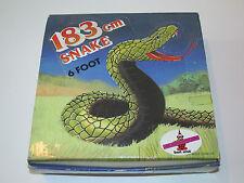 MOTU KO DOR MEI RUBBER SNAKE MIB 183cm 1980s - REMCO GALAXY FIGHTERS