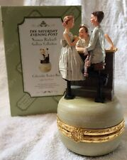 The Saturday Evening Post Norman Rockwell Gallery Collection Collectable Trinket