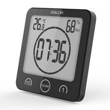 Baldr Waterproof Shower Clock Temperature Sensor Wall Countdown Bathroom Timer